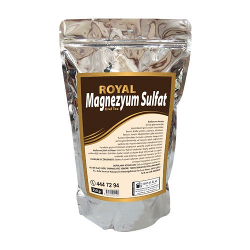 Royal Magnezyum Sülfat Oral Toz