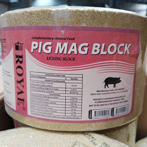 Pig Mag Block